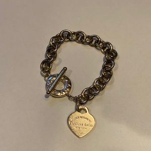 Original Worn1x beautiful Tiffany & CO bracelet